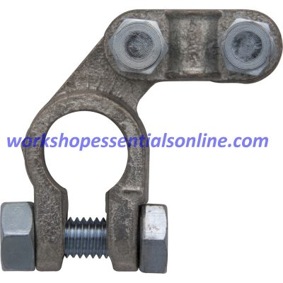 Battery Terminals 5Pc - Neg H-Duty Offset Type with Nuts BT28