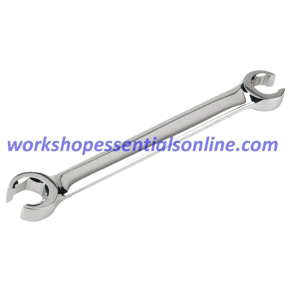 """Brake Pipe/Flare Nut Imperial Spanner Set AF 3/8""""-11/16"""" SAE Signet S33708"""