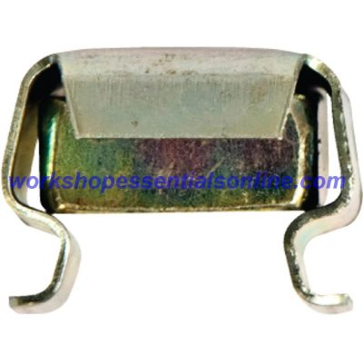 Cage Nut Metric M6 Wide Panel, Zinc Plated Steel Captive Nut, Sheet Metal Fixing