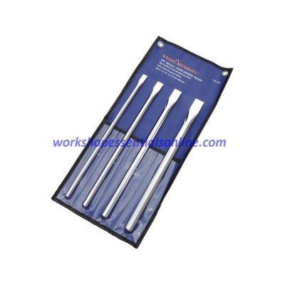 Chisel Set Long Metric 12,16,19,22mm 4 Piece Trident T251250