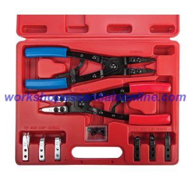 Circlip Pliers 10 Piece Set Signet S46930 Professional Internal & External