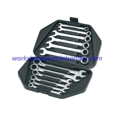 Combination Reversible Ratchet Spanner Set 12Piece 8-19mm Signet S34649