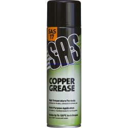 Copper Grease Spray High Temperature 500ml Spray Can SAS17