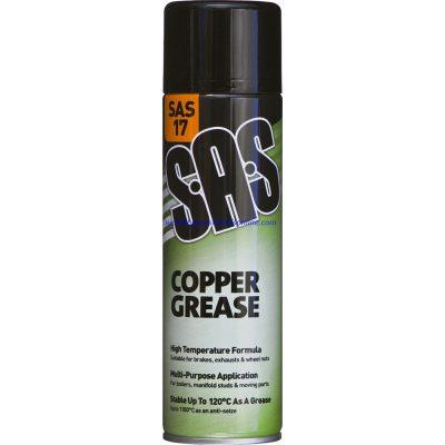 Copper Grease Spray High Temperature 500ml Spray Can SAS17
