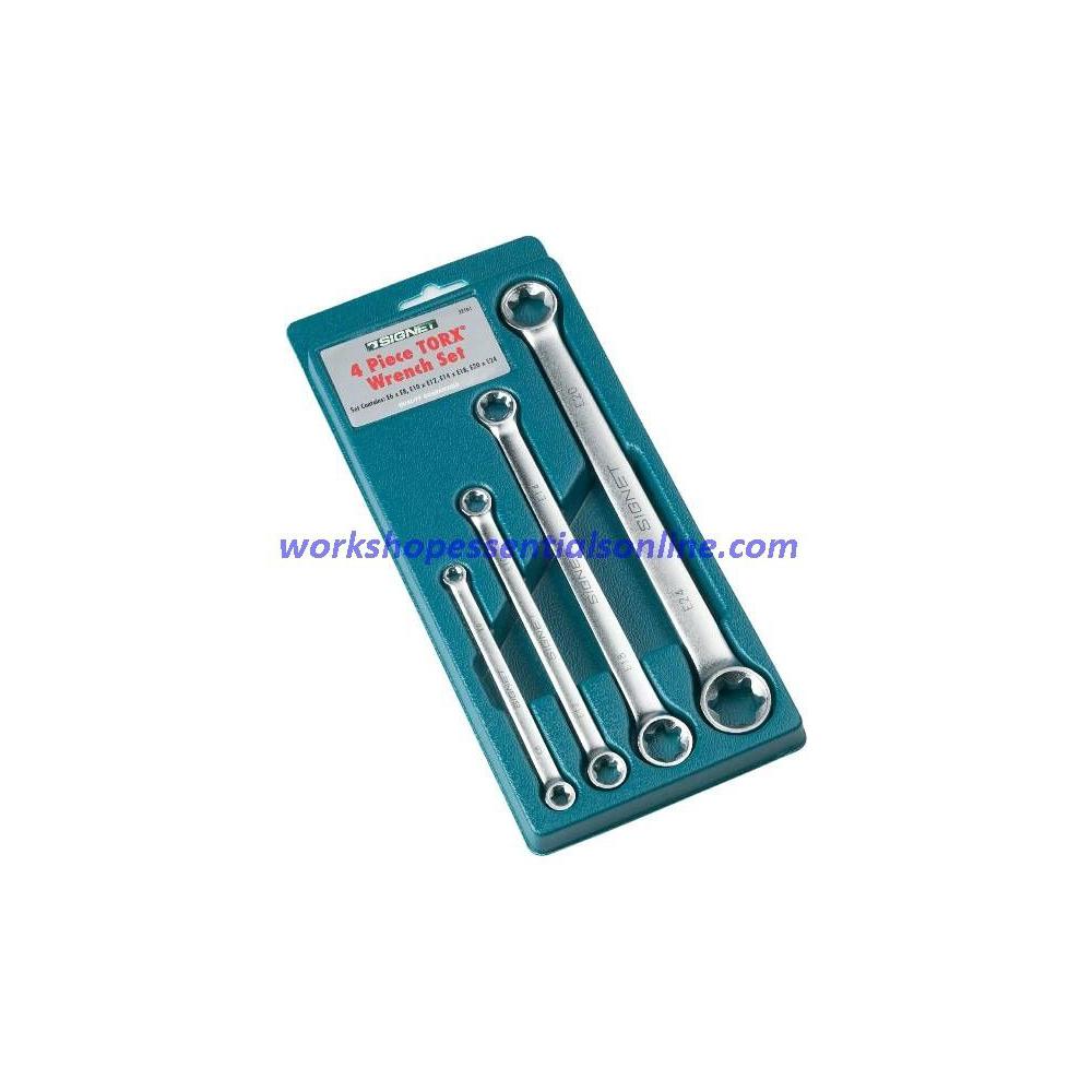 E-Torx Spanner Set 4 Piece E6 - E24 Signet S32161