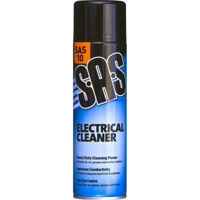 Electrical-Contact Cleaner 500ml SAS10 for all electrical components Switch gear