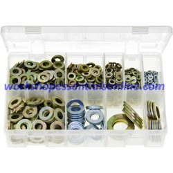 Flat Washers Metric Form 'A' Assorted 1150 Pieces Boxed AB76