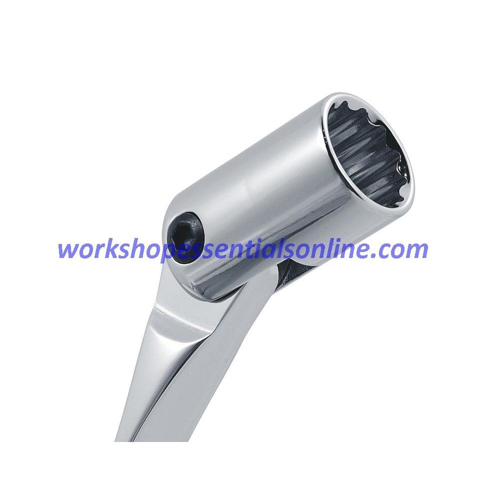 Flex Head Socket Spanner Set Metric 8-19mm 12 Piece Trident T215100