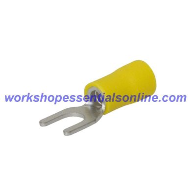 Fork Crimp Terminals Red 0.5-1.5mm², Blue1.5-2.5mm², Yellow4-6mm² Slot 3.2-6.4mm
