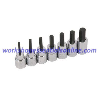 """Hex Key Socket 3/8"""" Drive 3mm Trident T120903"""