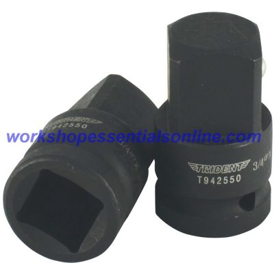 "Impact Adaptor/Converter 3/4"" Female-1"" Male Trident T942550"