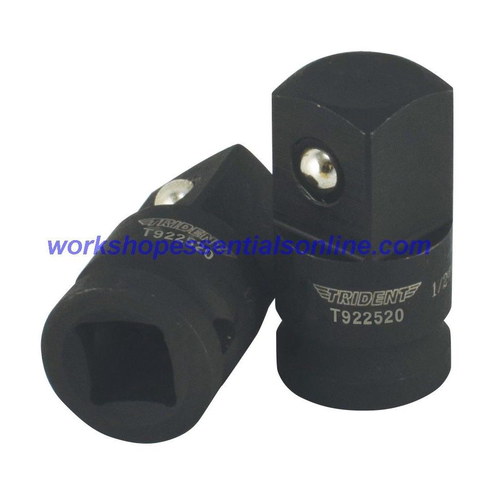 "Impact Adaptor/Converter 3/8"" Female-1/2"" Male Trident T922520"