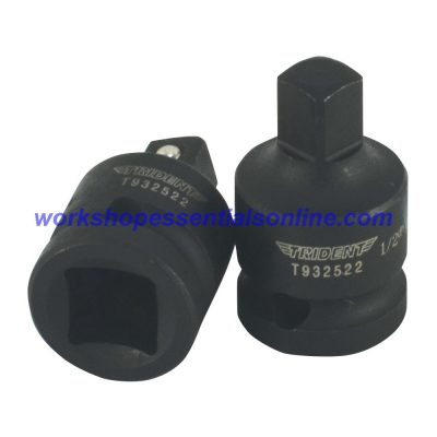 "Impact Adaptor/Reducer 1/2"" Female-3/8"" Male Trident T932522"