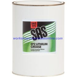 Lithium Grease EP2 500g Tin High Quality Multi Purpose Lubricant SAS171