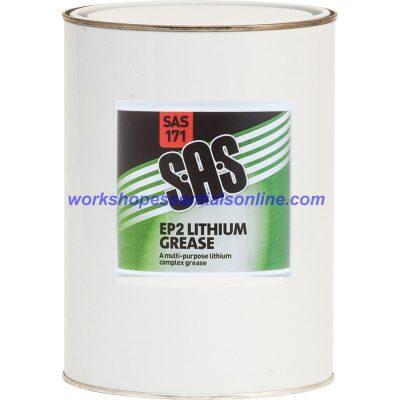 Lithium Grease EP2 500g Tin High Quality Multi Purpose Lubricant SAS171