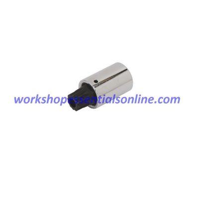 "Long Spline Bit Socket M18 1/2"" Drive 55mm Long Trident Quality Tools T130718"