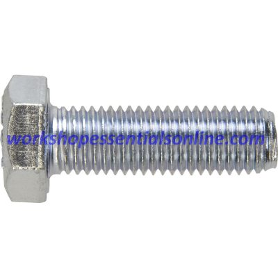 M10 Set Screws Fully Threaded Bolts Grade 8.8 Various Lengths 20-100mm BZP