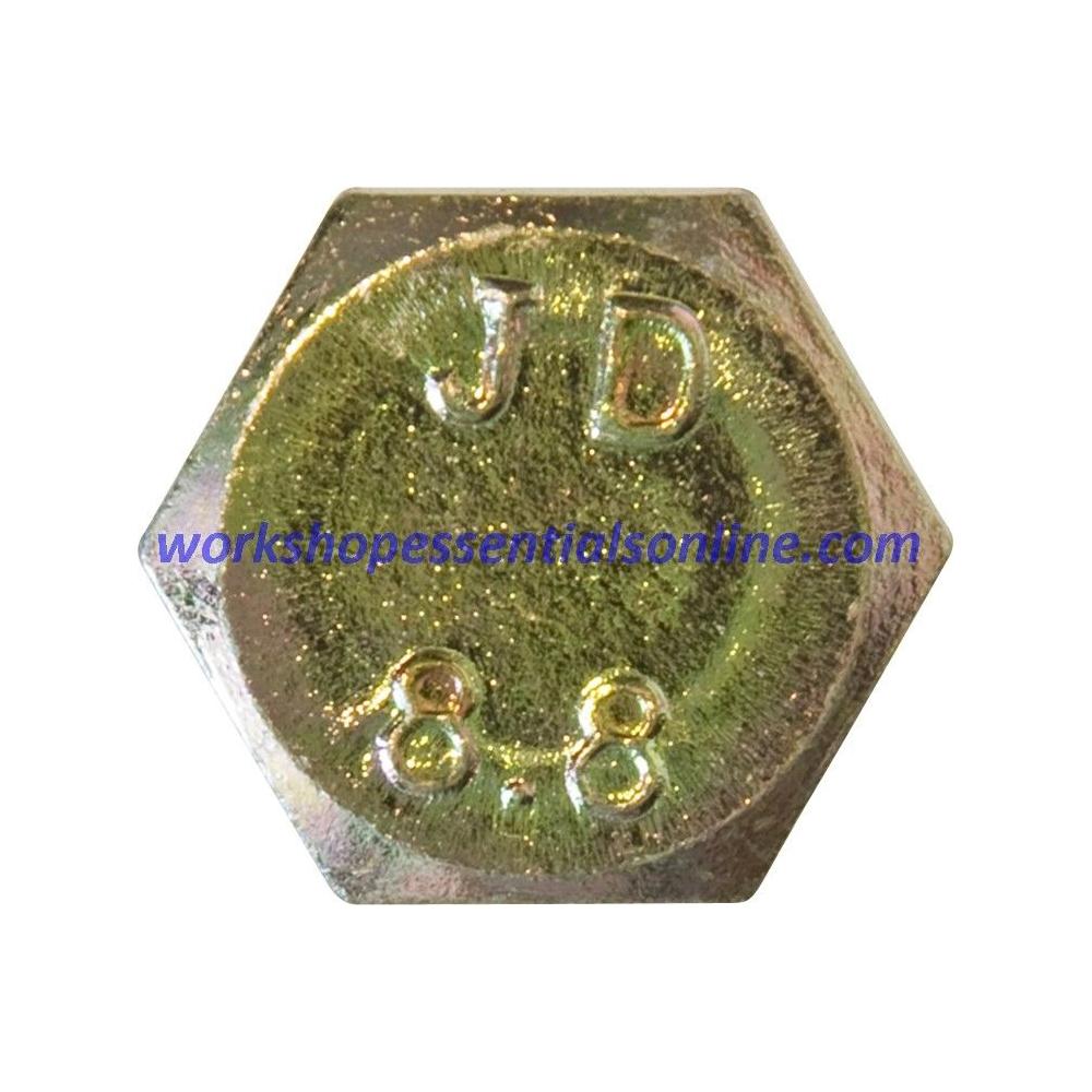 M6 Set Screws Fully Threaded Bolts Grade 8.8 Various Lengths 12-50mm Zinc Plated