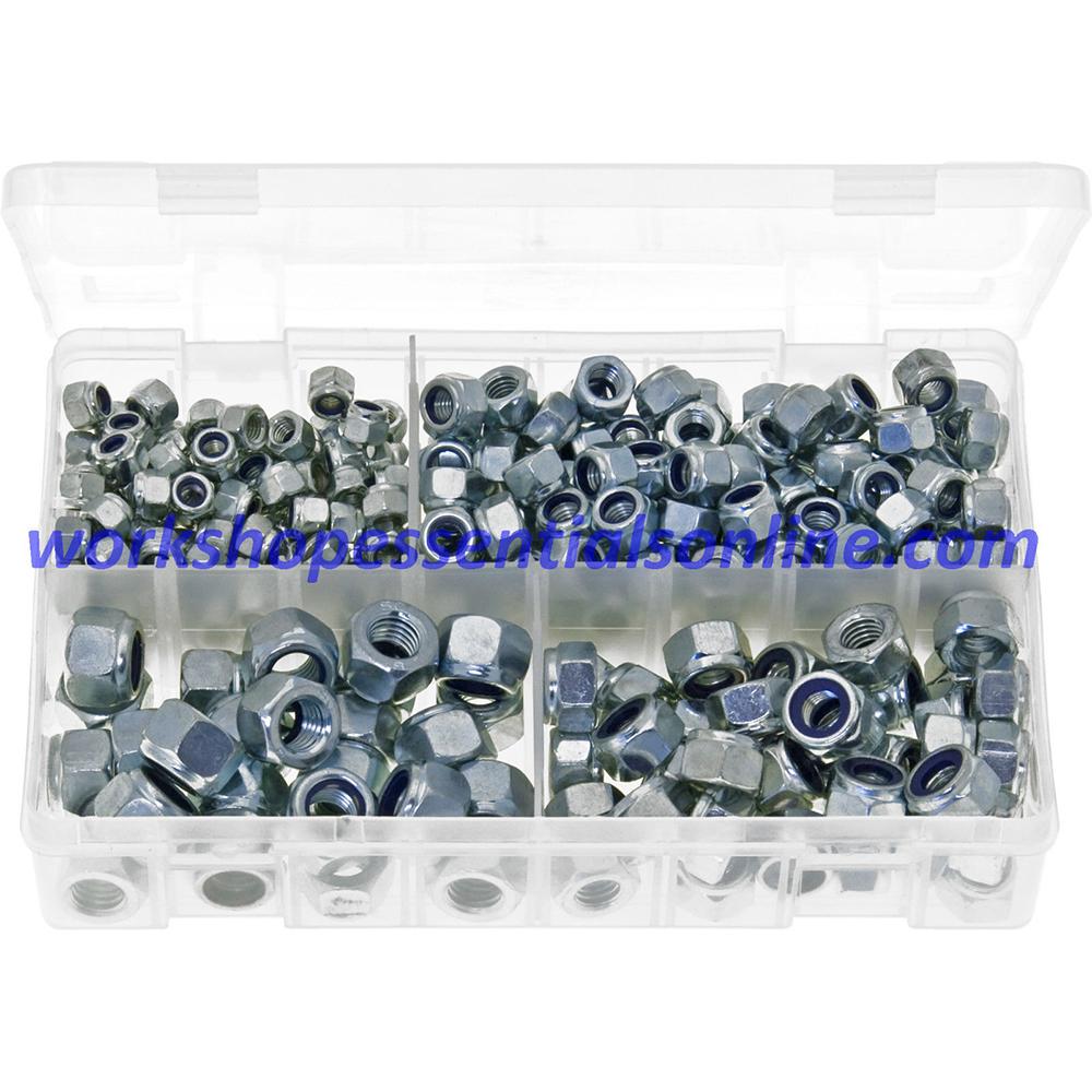 Metric Fine Thread Nyloc Nuts Grade '8' M8x1 M10x1 M10x1.25 M12x1.25 M12x1.5 100