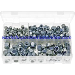 Metric Fine Thread Nyloc Nuts Grade '8' M8x1 M10x1 M10x1.25 M12x1.25 M12x1.5 200