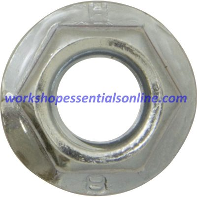 Metric Serrated Flange Nuts BZP M5 M6 M8 M10 M12 in 10s-20s-50s-100s-200s