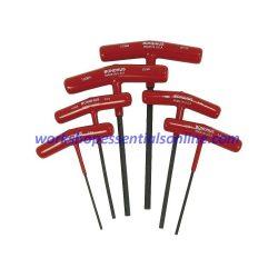 Metric T-Handle Hex Key Set 6 Piece 2-6mm Bondhus B13348