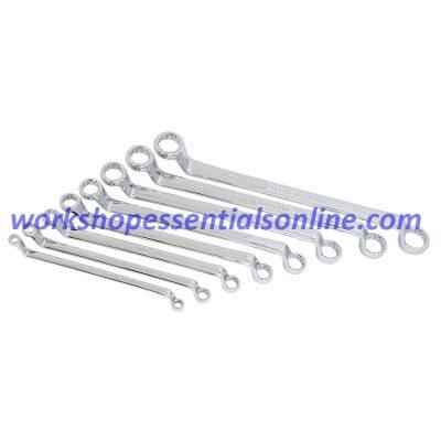 Offset Ring Spanner Set Metric 6 - 22mm 8 Piece Trident T212400