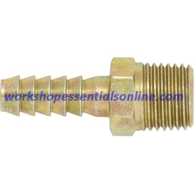 """PCL Threaded Hose Tails 1/4""""-?""""-1/2"""" Male BSP Thread 1/4""""-5/16""""-3/8""""-1/2"""" Hose Tail"""