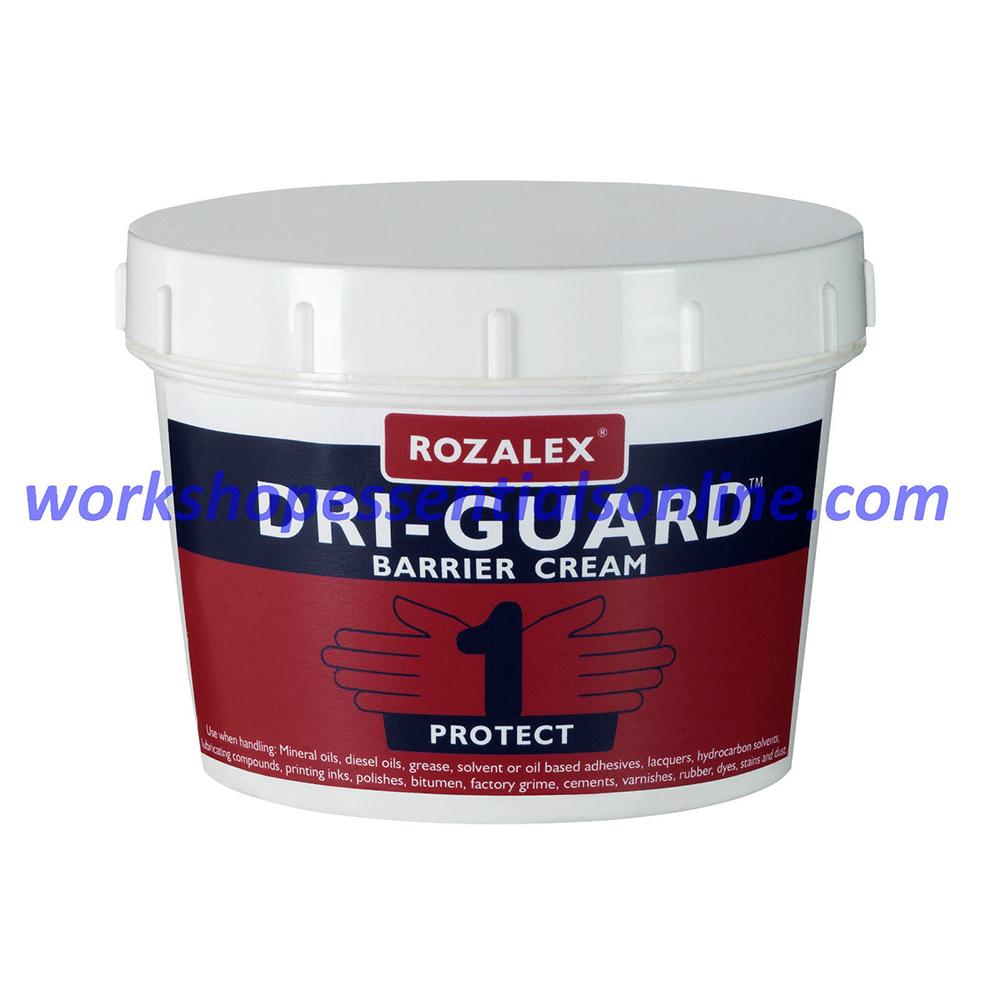 Rozalex® 'Dri-Guard®' Barrier Cream 450ml Tub Hand Care Protection
