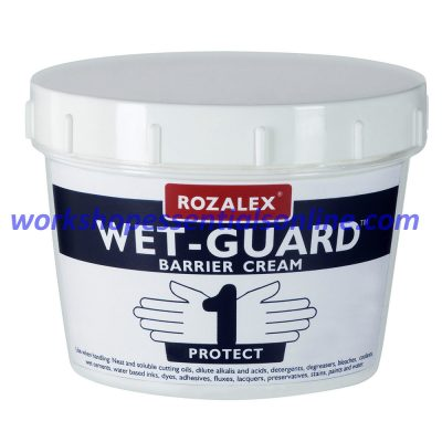 Rozalex® 'Wet-Guard®' Barrier Cream 450ml Tub Hand Care Protection