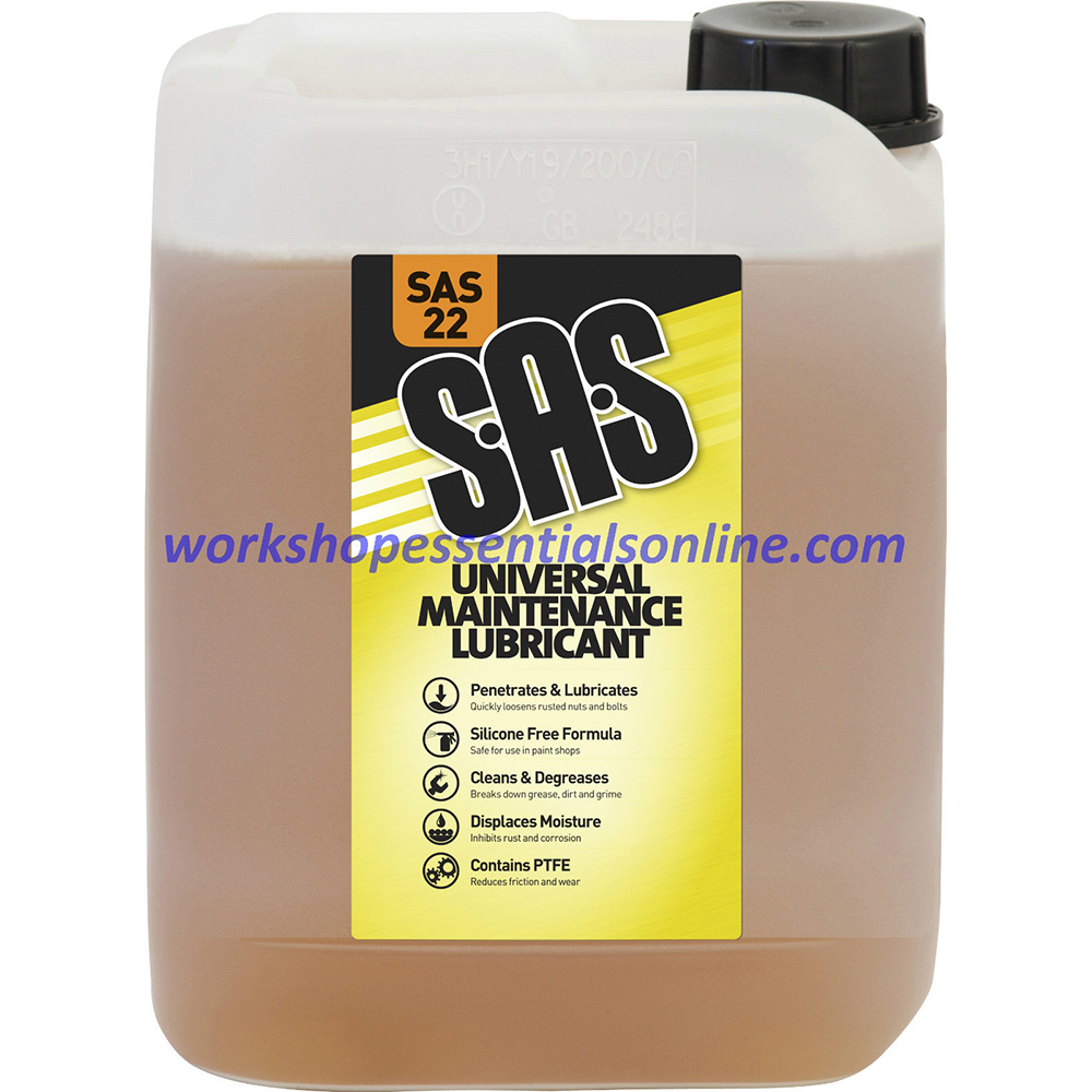 SAS22A Universal Maintenance Spray 5 ltr Penetrating Oil Silicone Free