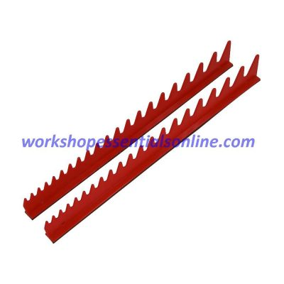 Spanner Organiser Magnetic Red Fits 20 Standard Spanners Ernst E6012M