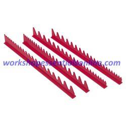 Spanner Organiser Red Fits Upto 40 Standard Spanners Ernst E6014