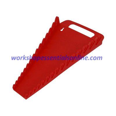 Spanner Organiser/Wrench Gripper Red Fits 15 Standard Spanners Ernst E5088