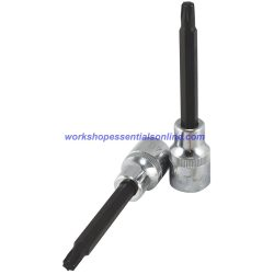 """T30 Torx Socket 1/2"""" Drive 100mm Overall Length Trident"""