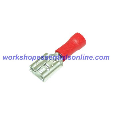 Female Spade Terminals Non Insulated Electric Crimp Connectors Red-Blue-Yellow