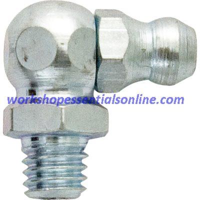 Hydraulic Mini Grease Nipples BZP 1/8BSP-1/4UNF-M6-M8-M10 Straight, 45°, 90°