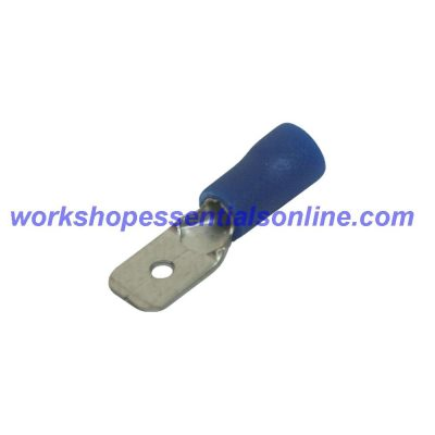 Male Spade Terminals Insulated Electric Crimp Connectors Red-Blue-Yellow