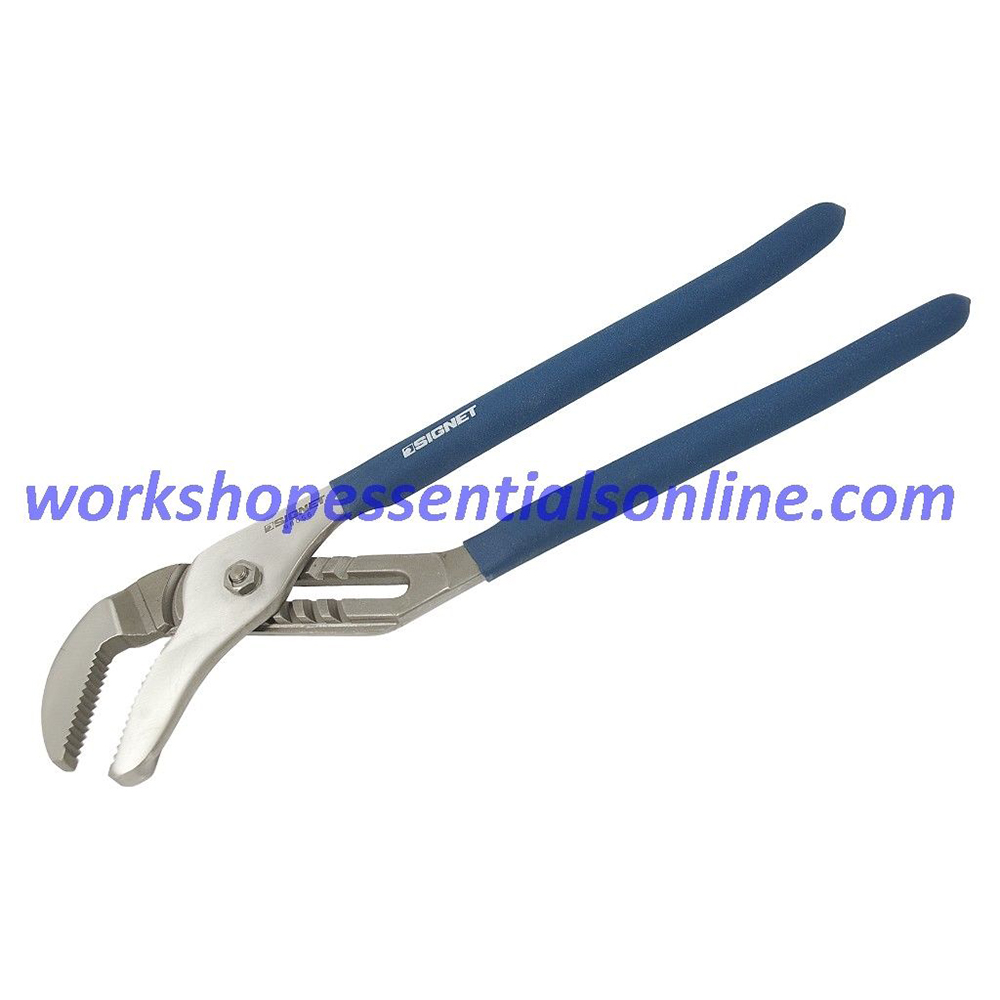 "Water Pump Pliers 400mm/16"" Signet S90056 Groove Joint, Eagle Beaks"