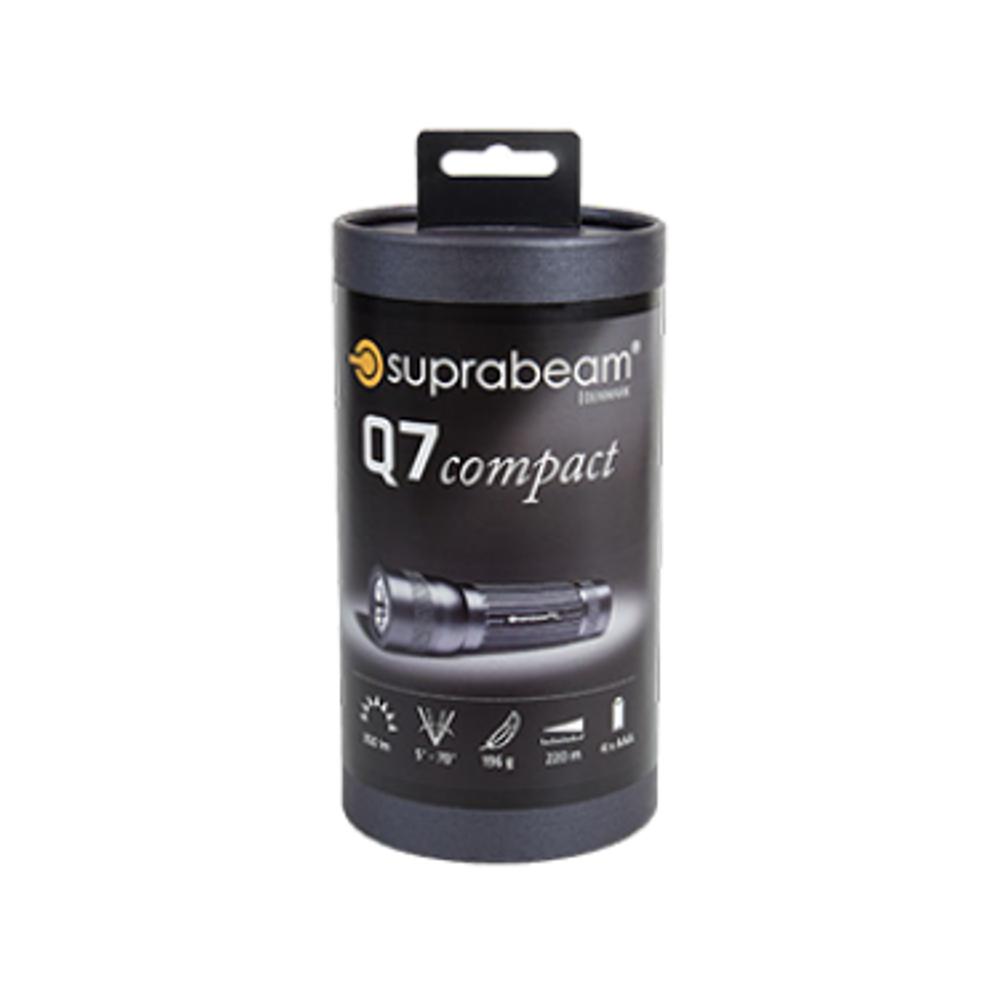Suprabeam Q1 Mini LED Hand Torch 70m Hyperfocus Beam