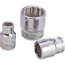 "1/4"" Drive 12 Point Socket 14mm Boxo"