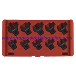 "3/8"" Crowfoot Wrench Set 10-19mm 10Pc T214200"