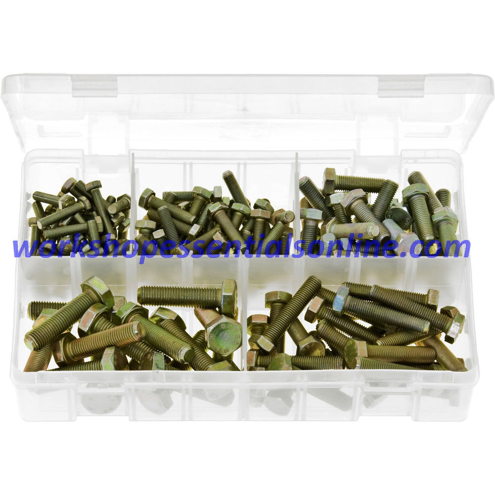 Metric Fine Set Screws High Tensile. 150 Pieces. AB11