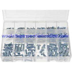 Metric Set Screws Max Box. High Tensile 290 Pieces AB564