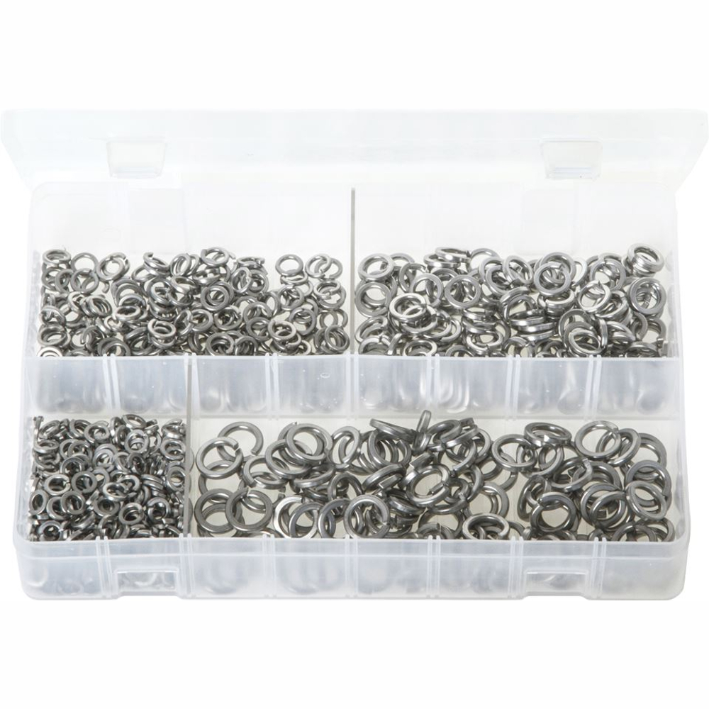 Metric Stainless Steel Spring Washers. 650 Pieces. AB158.
