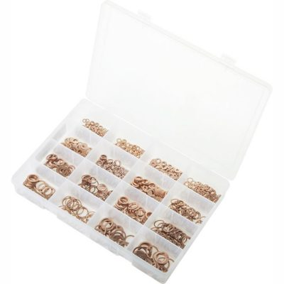 Metric Copper Sealing Washers. Max Box 1.050 Pieces. AB505