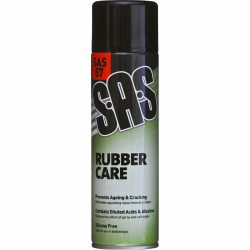 Rubber Care SAS57 Pack of 6 x 500ml Aerosols