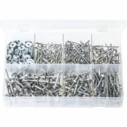 Rivets - Multi-Grip - with Washers. POP AVDEL 'Avex'. 440 Pieces. AB48N