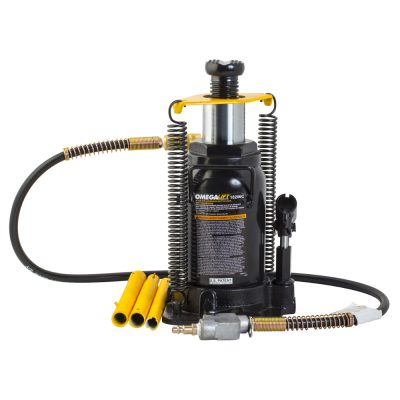 Bottle Jack - Air Hydraulic 20 Ton with Return Springs. OM-18206C
