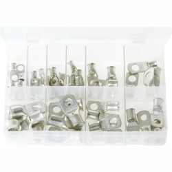 Copper Tube Terminals. Assorted Box. 40 Pieces. AB114N